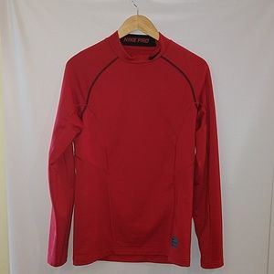 Nike Pro Dri-Fit Fitted Red shirt